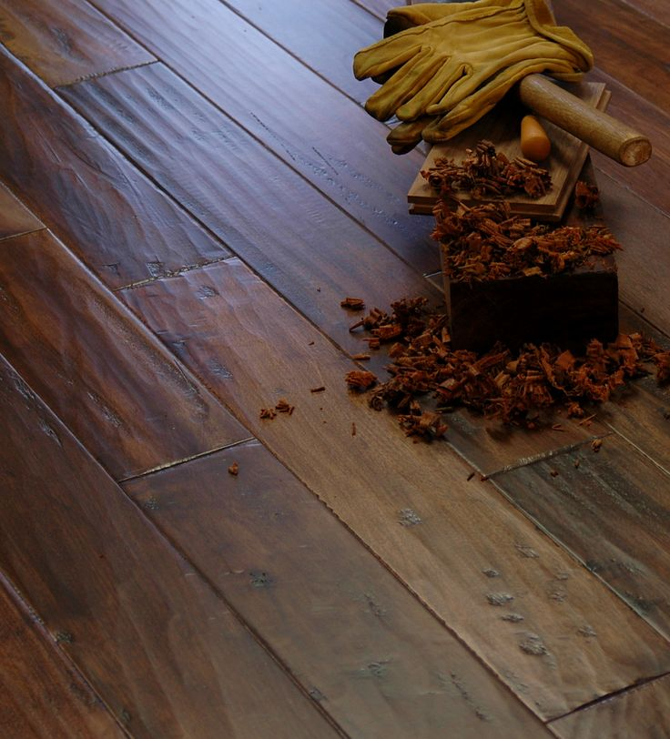 Hand Scraped Flooring History