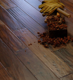 Hand Scraped Flooring History