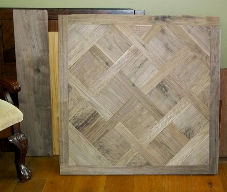 Walnut Mosaic Flooring