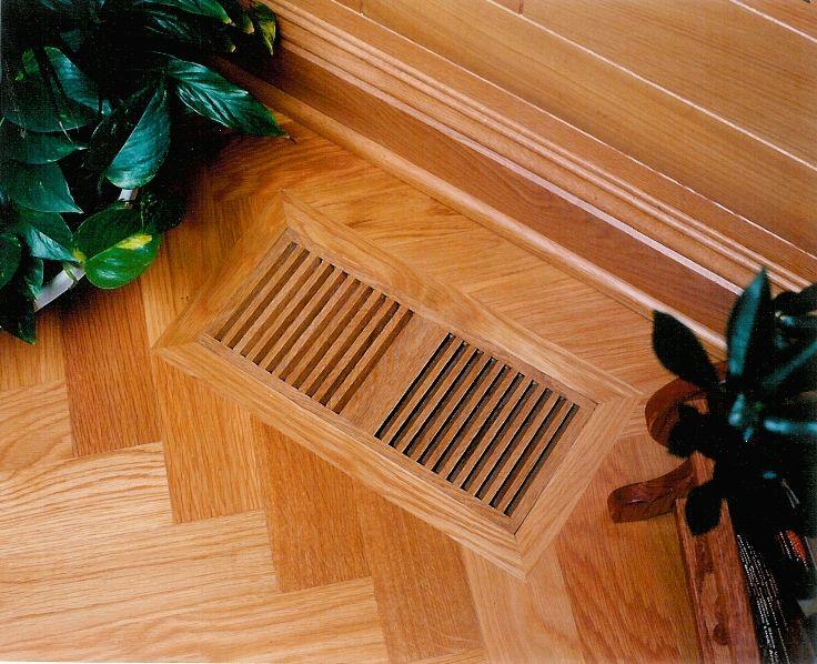 Flush Mount Floor Registers