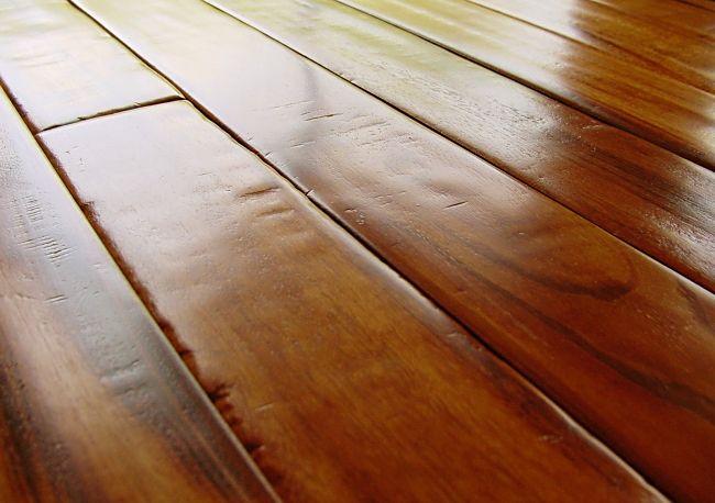 Hand Scraped Tigerwood Flooring