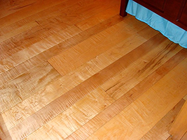 Curly Hard Maple Flooring