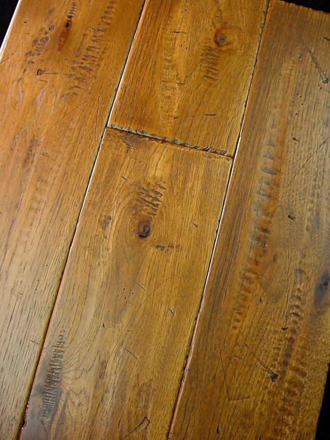 Distressed Hickory Flooring