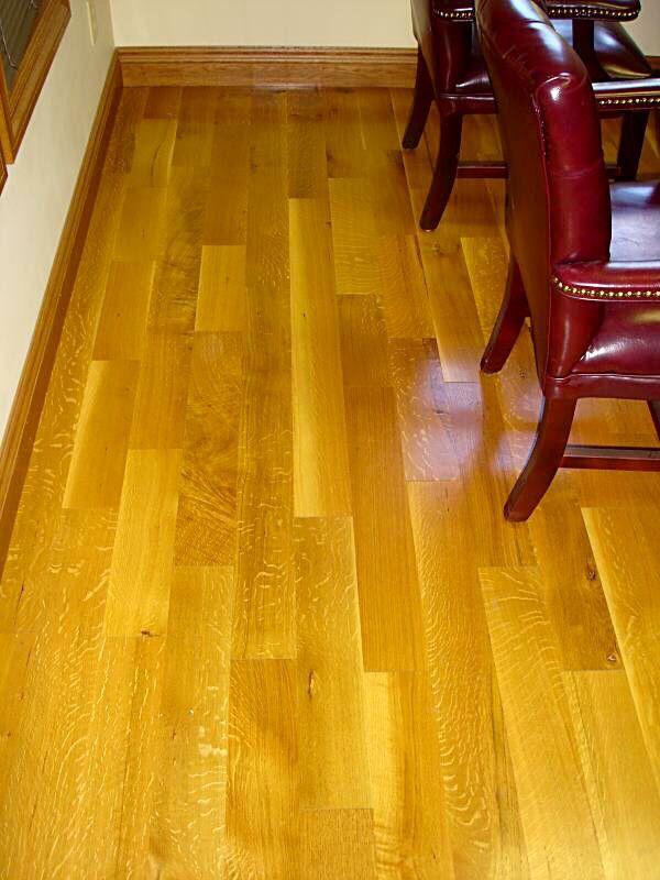 Natural Grade R&Q White Oak Flooring