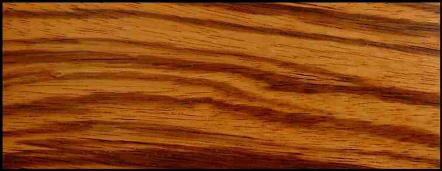Example of Zebrawood for hardwood flooring, millwork, stairs, cabinets, doors and more available from Prodigy Hardwood Interiors.