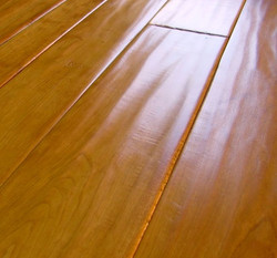 Hand Scraped Cherry Flooring
