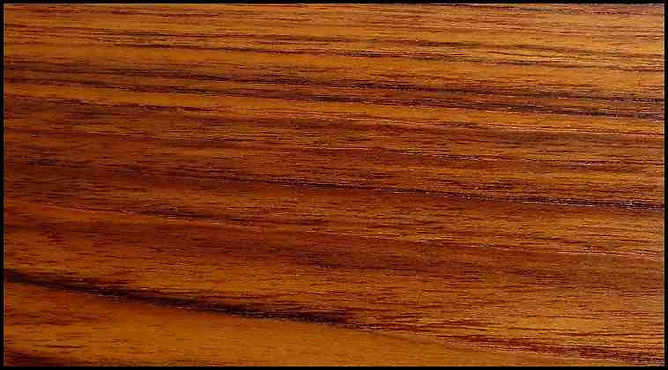 Example of Teak for hardwood flooring, millwork, stairs, cabinets, doors and more available from Prodigy Hardwood Interiors.