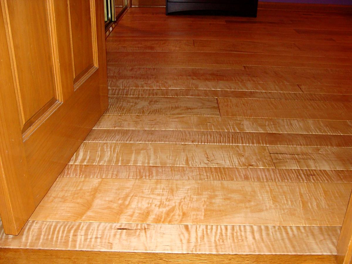 Figured Hard Maple Flooring