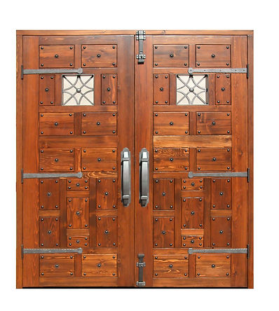 We offer completely custom hardwood doors at very competitive prices.