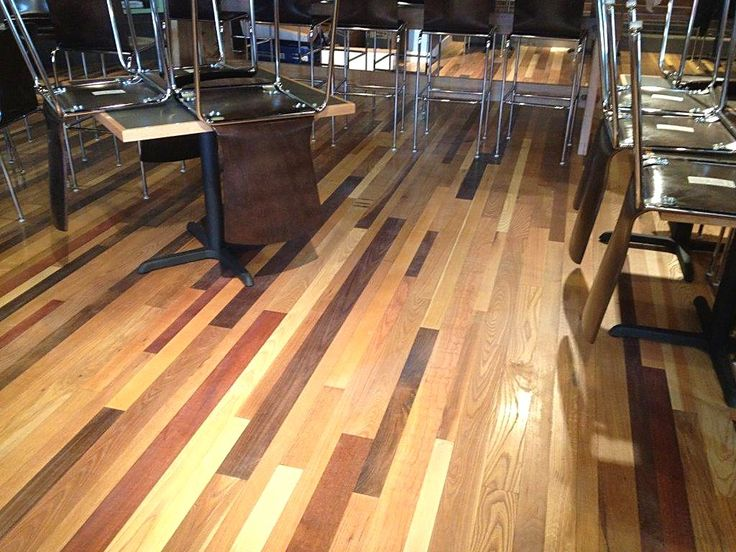 Mixed Species Flooring