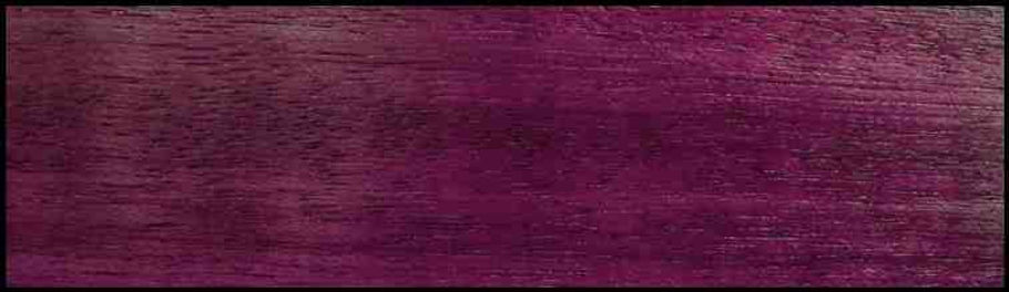 Example of Purpleheart for hardwood flooring, millwork, stairs, cabinets, doors and more available from Prodigy Hardwood Interiors.