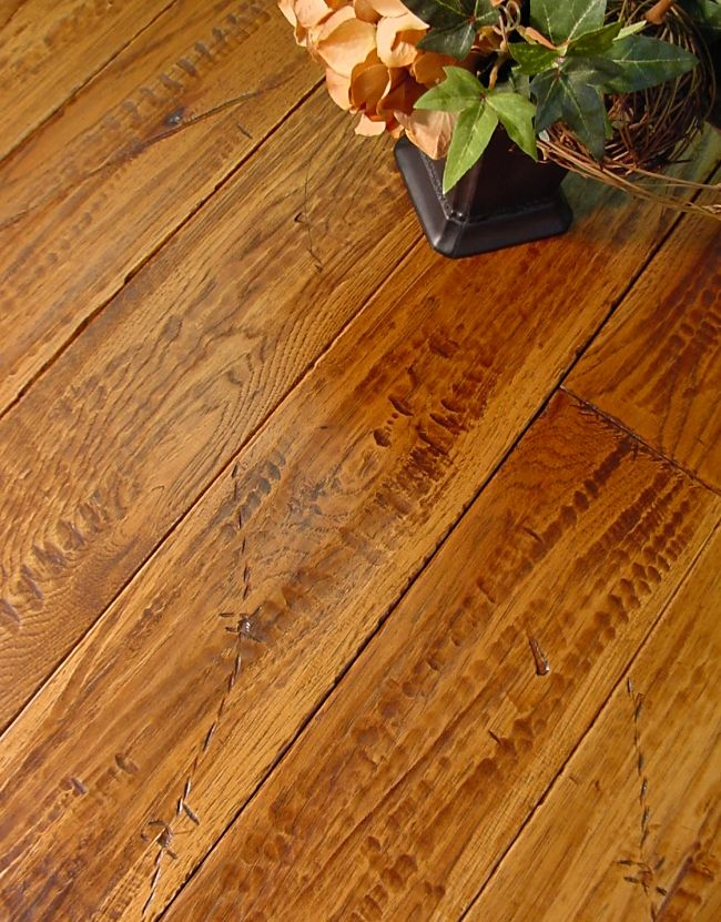 Hickory Flooring with Impressions