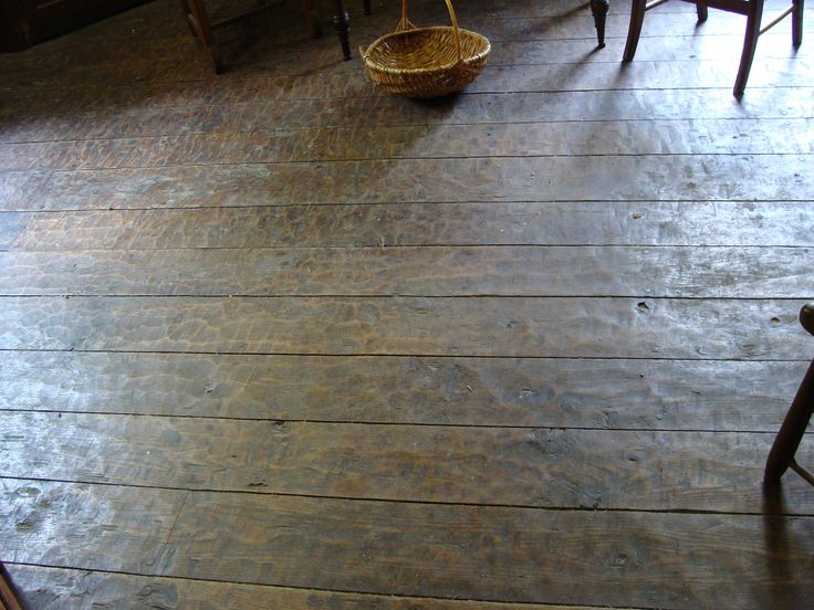 Hand Hewn Oak Flooring