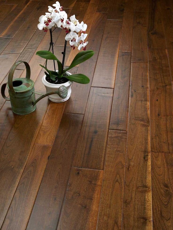 Mixed Width Walnut Flooring