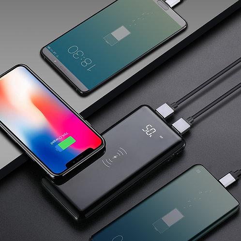 10000mAh Wireless Charging finish Power Bank