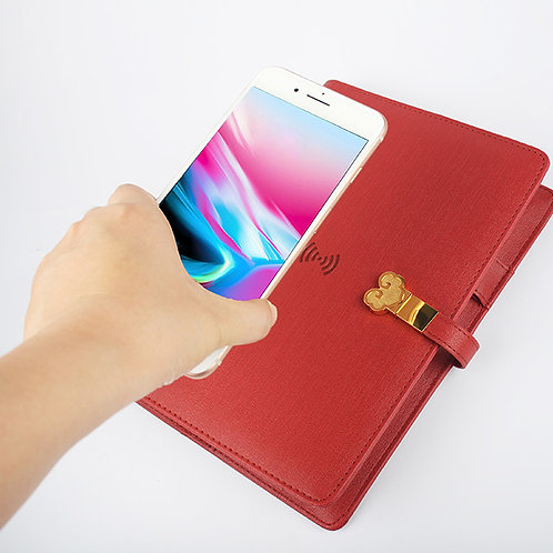 Video Play Notebook Wireless Power Bank Business Gift