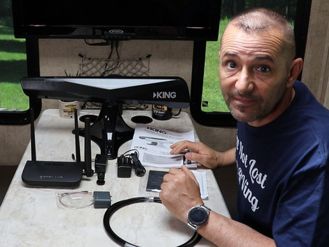 King Falcon WiFi - Automatic Directional Antenna and Router for the RV