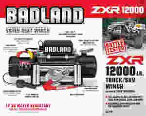 Badland ZXR 12K Winch