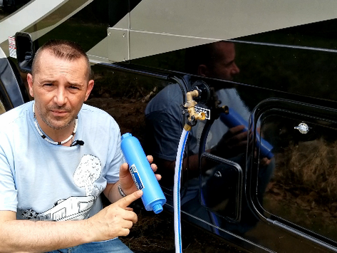 Dewinterizing an RVs Plumbing System and How to Sanitize the RV Fresh Water System