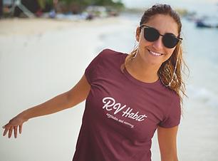 RV Habit Light Paradise logo shirts and sweatshirts