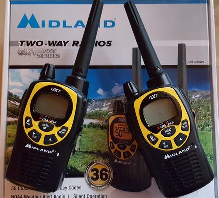 Midland GXT Pro Series Two-Way Radios GXT1030vp4