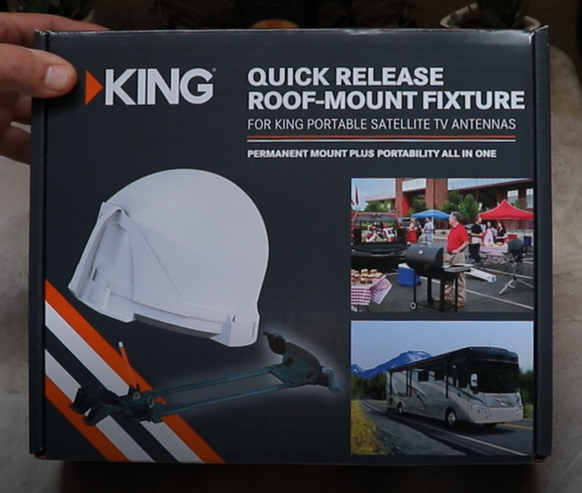 MB700 King Quick Release Roof Mount Fixture