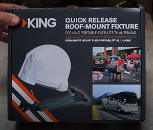 Dish Network And King Tailgater Pro Satellite Antenna
