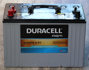 AGM RV Battery Install