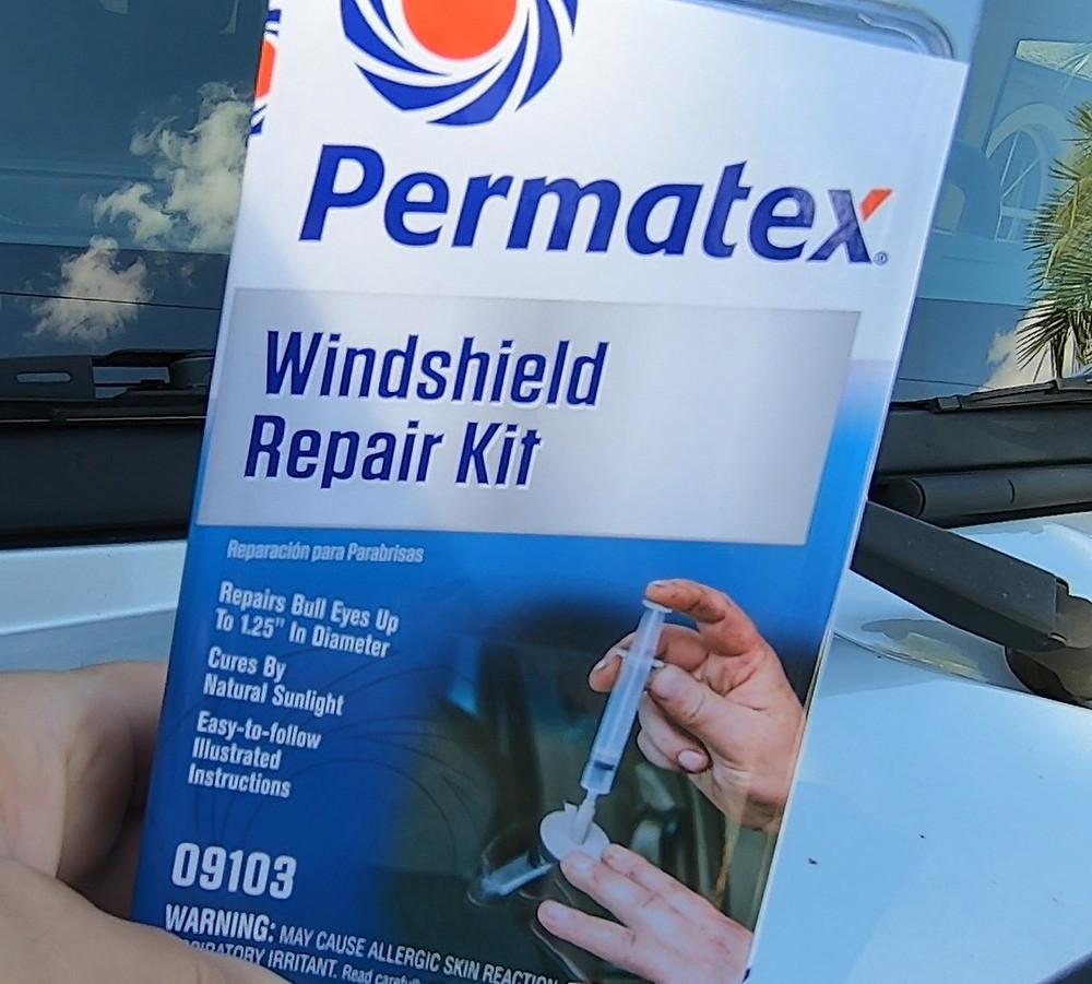 Permatex Windshield Repair Kit 09103