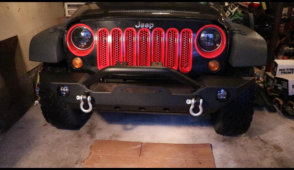 GSI Jeep Wrangler JK Front Bumper