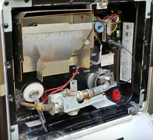 drain rv water heater