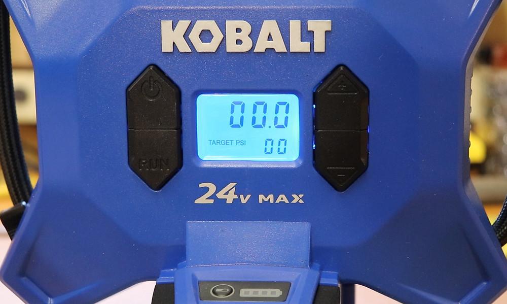 Kobalt 24v Cordless High Pressure Air Inflator