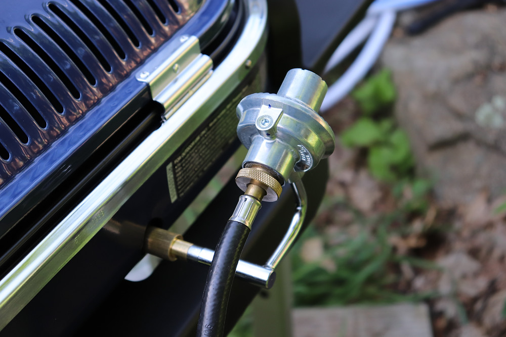 portable grill regulator