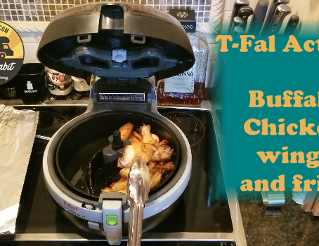 T-Fal Actifry Cooking in our RV