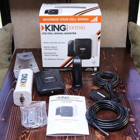 King Extend LTE Cell Signal Booster - KX1000 - Install and Review