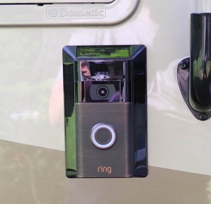 Ring Doorbell with Solar Charger