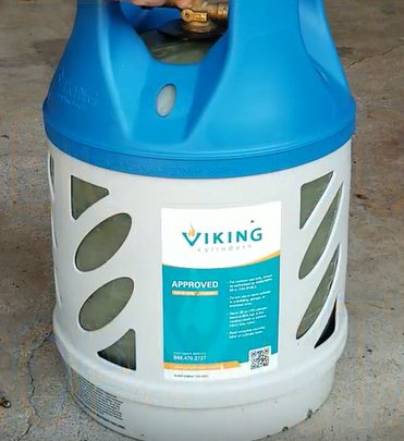 Viking Cylinders 17 lb Composite LPG Tank