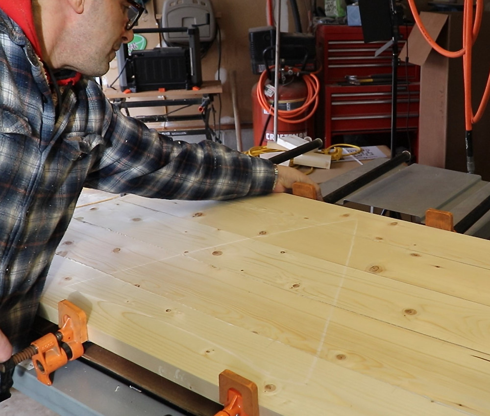 build a wood table top