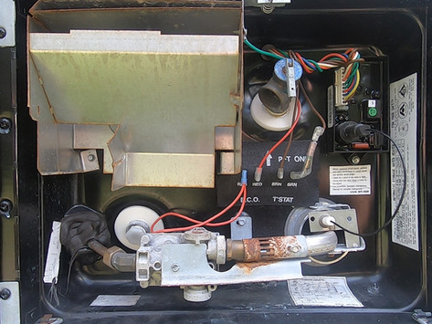 RV Water Heater Not Igniting Or Staying Lit - RV Maintenance And Cleaning