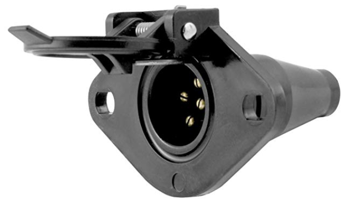 Curt Manufacturing 58130  Six Pin Trailer Connector