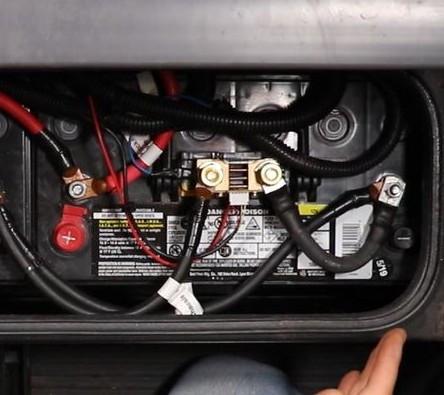 RV Battery Monitor Shunt Sampler