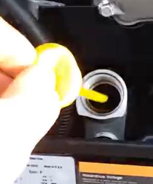 onan oil check