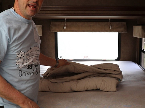 RV Bedding Made Easy With This Comfortable Upgrade - Zipper Bedding