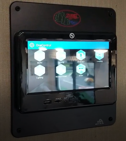 My RV monitor system