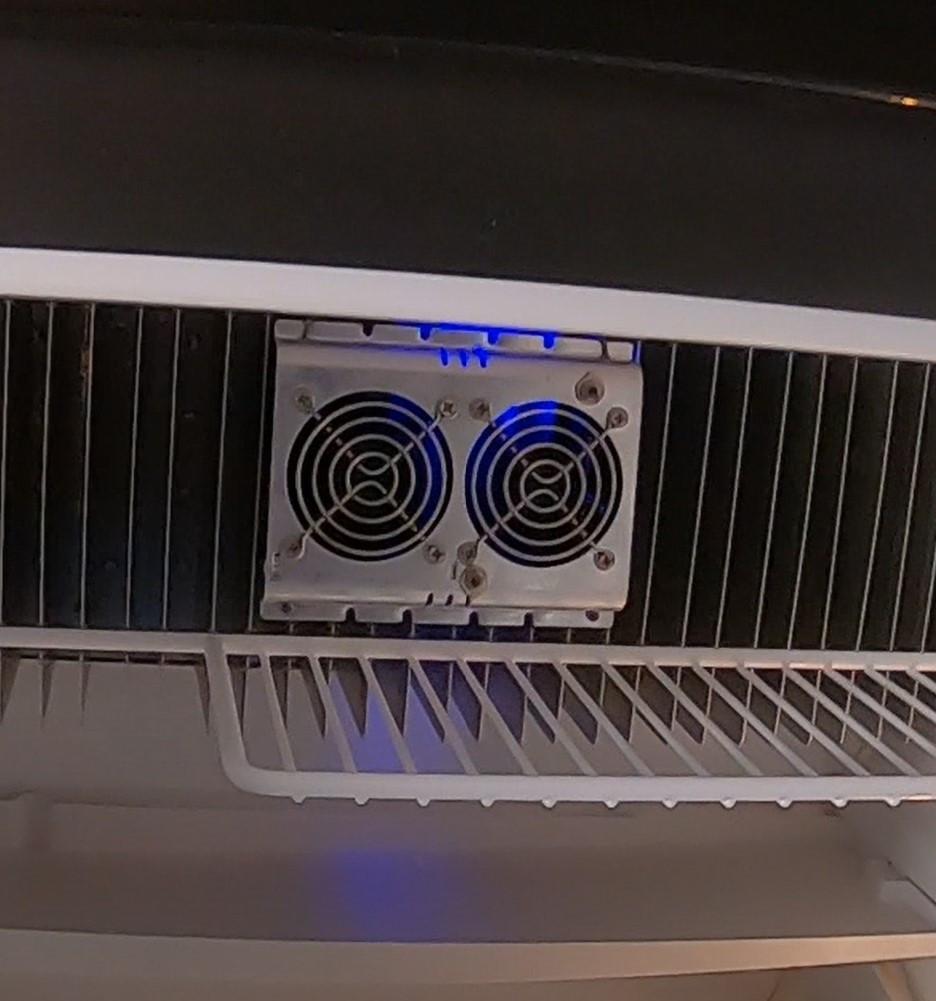 Deluxe RV Refrigerator Evaporator Fan