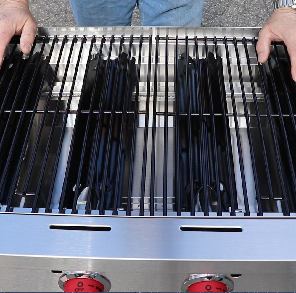 camp chef flat top burners