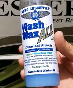 Aero Cosmetics Wash Wax Wall