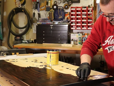 How To Build A Custom Wood RV Dinette Table Top - DIY