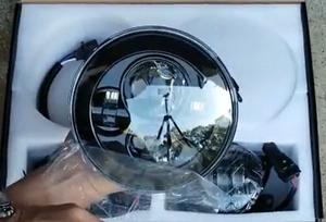 """7"""" LED Black Daymaker Headlights"""