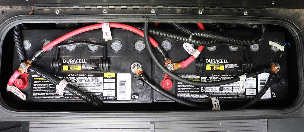 RV Battery wiring